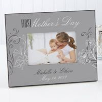 Her First Mother's Day 4-Inch x 6-Inch Picture Frame