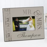 """We Said """"I Do"""" 4-Inch x 6-Inch Wedding Picture Frame"""