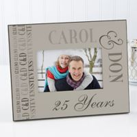Anniversary Memories 4-Inch x 6-Inch Picture Frame