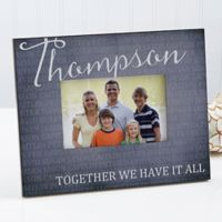 Together Forever 4-Inch x 6-Inch Family Picture Frame