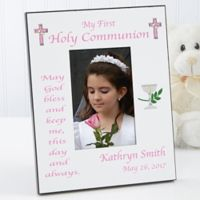 My First Communion 4-Inch x 6-Inch Picture Frame