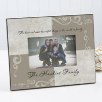 Family Sentiments 4-Inch x 6-Inch Picture Frame