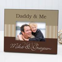 Daddy & Me 4-Inch x 6-Inch Picture Frame