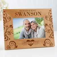 Celebrating Their Love 4-Inch x 6-Inch Anniversary Picture Frame