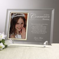 A Communion Blessing Picture Frame