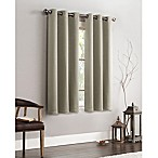 VCNY Home Ryan 63-Inch Grommet Top Room Darkening Window Curtain Panel in Ivory