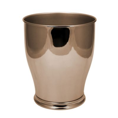 bathroom wastebasket. Hammond Waste Basket in Gold Buy Bathroom from Bed Bath  Beyond