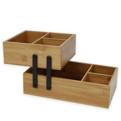 Buy Bamboo Bathroom Decor from Bed Bath & Beyond