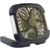 O2COOL® 10-Inch Portable Camping Fan in Black