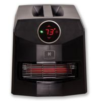 Heat Storm Mojave Ultra Infrared Quartz Portable Heater in Black