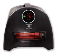 Heat Storm Sahara Ultra Infrared Quartz Portable Heater in Black