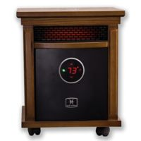 Heat Storm Smithfield Deluxe Infrared Quartz Portable Heater in Oak