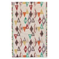 Feizy Cadiz Triangle Geo 5-Foot x 8-Foot Multicolor Area Rug