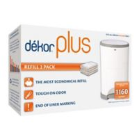 Diaper Dekor Plus Diaper Disposal Refills in White (2-Pack)