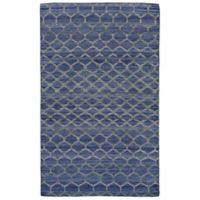 Feizy Prentiss Honeycomb 9-Foot x 12-Foot Area Rug in Blue