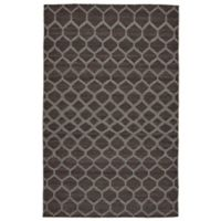 Feizy Prentiss Honeycomb 9-Foot x 12-Foot Area Rug in Charcoal