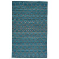 Feizy Prentiss Honeycomb 9-Foot x 12-Foot Area Rug in Teal