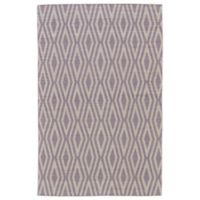 Feizy Prentiss Concentric Diamonds 9-Foot x 12-Foot Area Rug in Ivory