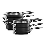 Calphalon® Premier™ Space Saving Hard Anodized Nonstick 10-Piece Cookware Set
