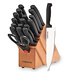 Farberware®  Tri-Star Handle 18-Piece Knife Block Set