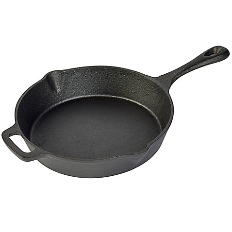 Basic Elements 10 Inch Open Fry Pan With Assist Handle In