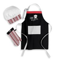 Mukitchen Kids Chef in Training 3-Piece Apron Set