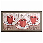 "David Burke Cliffside ""Café Mocha"" Memory Foam 20-Inch x 39-Inch Kitchen Mat"
