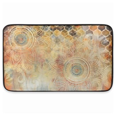 Home Dynamix Designer Chef Boho Floral Anti Fatigue 18 Inch X 30 Inch
