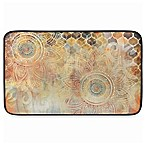 Home Dynamix Designer Chef Boho Floral Anti-Fatigue 18-Inch x 30-Inch Kitchen Mat