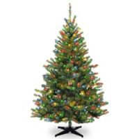 National Tree Company 6-Foot Pre-Lit Multicolor Kincaid Spruce Artificial Christmas Tree