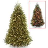 National Tree Company 6-1/2-Foot Pre-Lit LED Dunhill Fir Artificial Christmas Tree