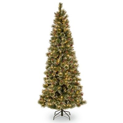 Buy Glitter Pre Lit Tree From Bed Bath Beyond - Wispy Willow Christmas Tree