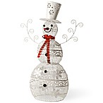 National Tree Company 36-Inch Metal Snowman Christmas Decoration