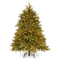 National Tree Company 4.5-Foot Pre-Lit Jersey Fraser Fir Christmas Tree with Clear Lights