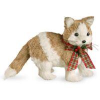National Tree Company 8-Inch Holiday Kitty Decoration