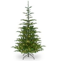 National Tree Company 7.5-Foot Norwegian Spruce Pre-Lit Christmas Tree with Clear Lights