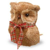 National Tree Company 8-Inch Owl Holiday Decoration