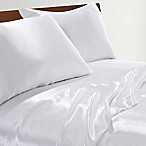 Satin Radiance 230-Thread-Count King Sheet Set in Ivory