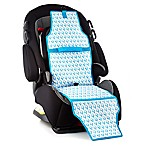 Cool Carats Freezable Car Seat Cooler in White/Blue