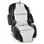 Cool Carats Freezable Car Seat Cooler in White/Grey