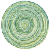 Capel Rugs Waterway 9-Foot 6-Inch Round Area Rug in Yellow