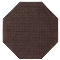 Mohawk Home Vista 4-Foot Octagon Area Rug in Chocolate