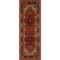 Surya Uthaca 2-Foot 7-Inch x 7-Foot 3-Inch Area Rug in Dark Red