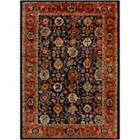 Surya Uthaca 3-Foot 11-Inch x 5-Foot 7-Inch Area Rug in Black