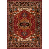 Surya Uthaca 3-Foot 11-Inch x 5-Foot 7-Inch Area Rug in Dark Red