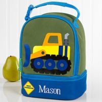 Stephen Joseph® Embroidered Construction Lunch Bag