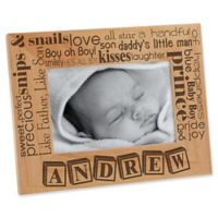 Our Pride and Joy 4-Inch x 6-Inch Horizontal Picture Frame