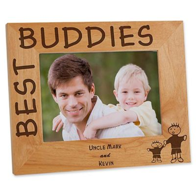 Buy personalized gifts from bed bath beyond best buddies 5 inch x 7 inch picture frame negle Images