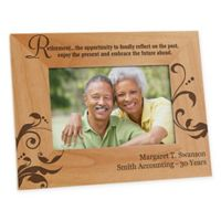 """Retirement Is..."" 4-Inch x 6-Inch Picture Frame"