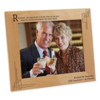 """Retirement Is..."" 8-Inch x 10-Inch Picture Frame"